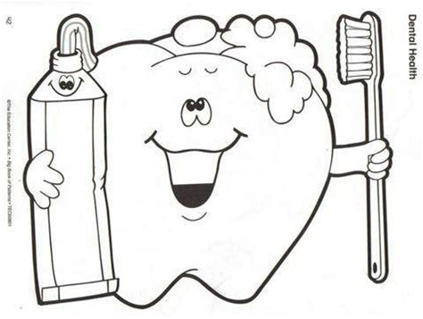 health coloring pages preschool 10 images about les dents on pinterest coloring dental