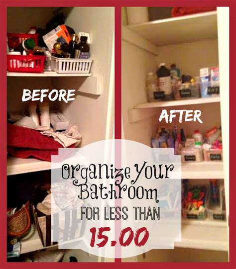 7 Organizing Tips For Your Bathroom by Inexpensive Bathroom Organization Tips Takes Less Than