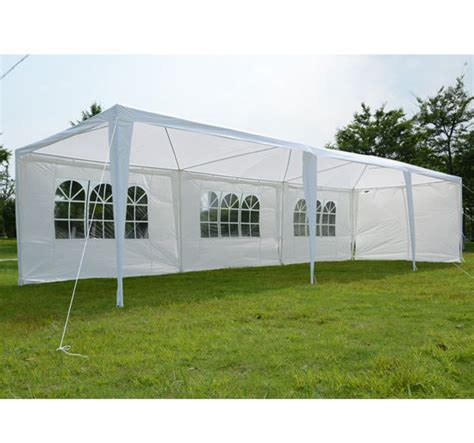 Event Awnings by 10 X 30 White Tent Gazebo Canopy
