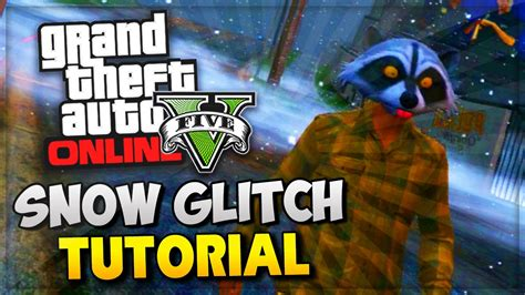 online tutorial in gta 5 gta 5 glitches how to get quot snow online quot new glitch
