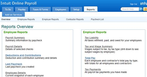 What Reports From Quickbooks Are Needed For Taxes by View Payroll Tax Reports Quickbooks Learn Support