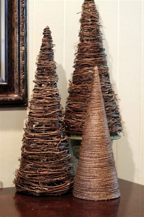 Paper Cone Tree Craft - 25 best ideas about cone trees on pine cone