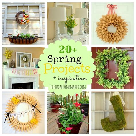 spring projects 20 spring projects lots of spring inspiration