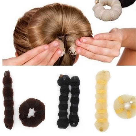 how to use a hair bun ring online buy wholesale hair donut bun from china hair donut