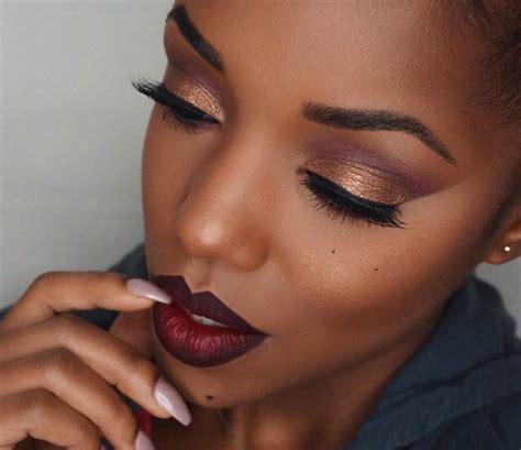 Eyeshadow Tutorial Black Girl | 8 eyeshadow ideas for black women makeup tutorials