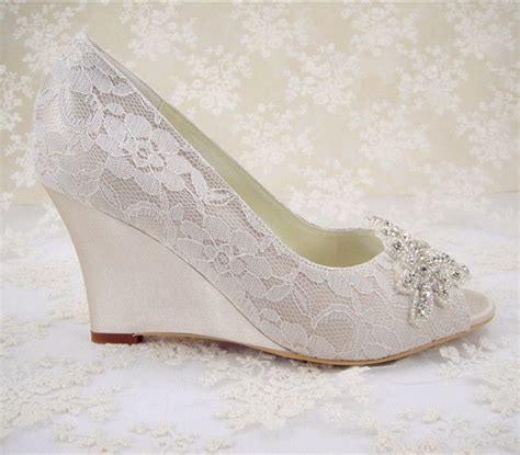 17 best ideas about bridal wedges on wedding