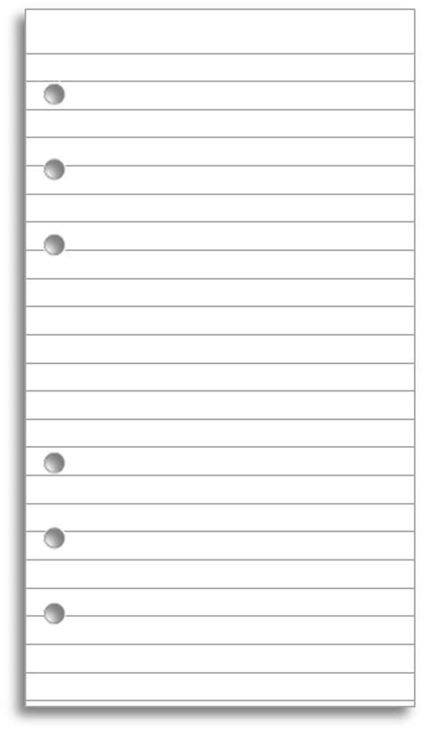 printable lined paper a5 17 best images about filofax and free printables on
