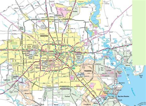 houston map connecticut houston area road map