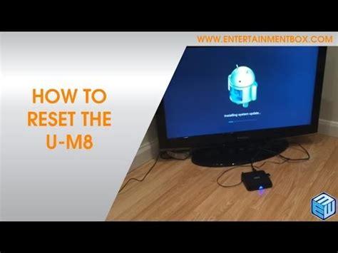 reset android m8 box how to factory reset the m8 tv box how to restore your