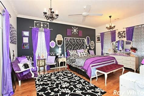 black white and purple bedroom ideas cool or fool the rainbow house home bunch interior