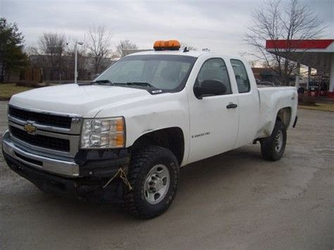 sell used 2007 chevy silverado 2500hd 4x4 extended cab 6 0l automatic transmission in saint