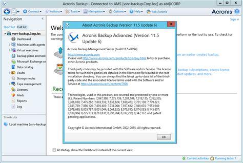 acronis backup advanced workstation server 11 5 43994 en