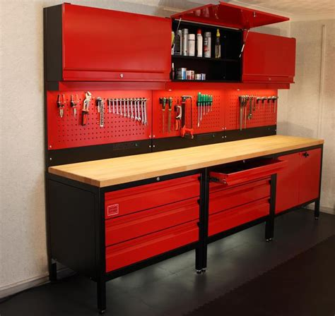 tool bench for garage create your own dream garage mcn