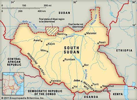 south sudan map south sudan encyclopedia children s homework help dictionary britannica