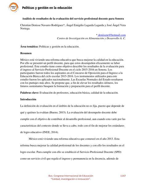resultado de la evaluacion para contrata docente 2016 download pdf an 225 lisis de resultados de la evaluaci 243 n pdf download