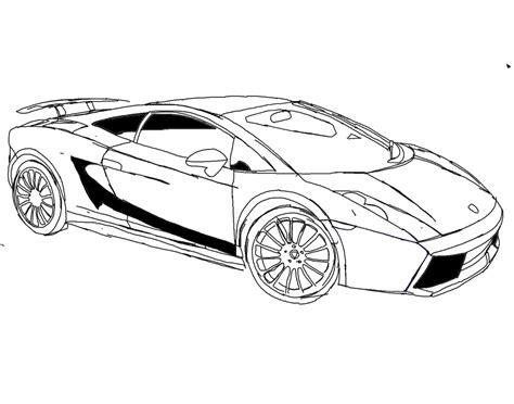Coloring Lamborghini Free Lamborghini Coloring Pages Az Coloring Pages
