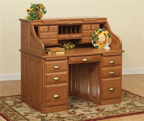 Where Can I Buy A Roll Top Desk Amish Executive Roll Top Desk 50 Quot