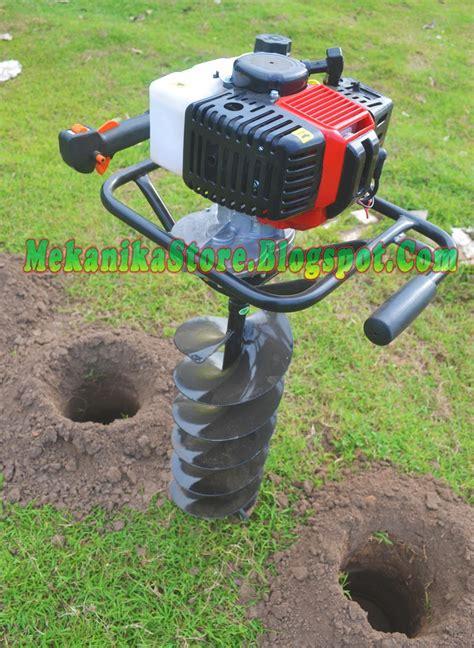bor tanah bermesin mekanikastore