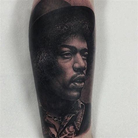 jimi hendrix tattoo designs jimi portrait