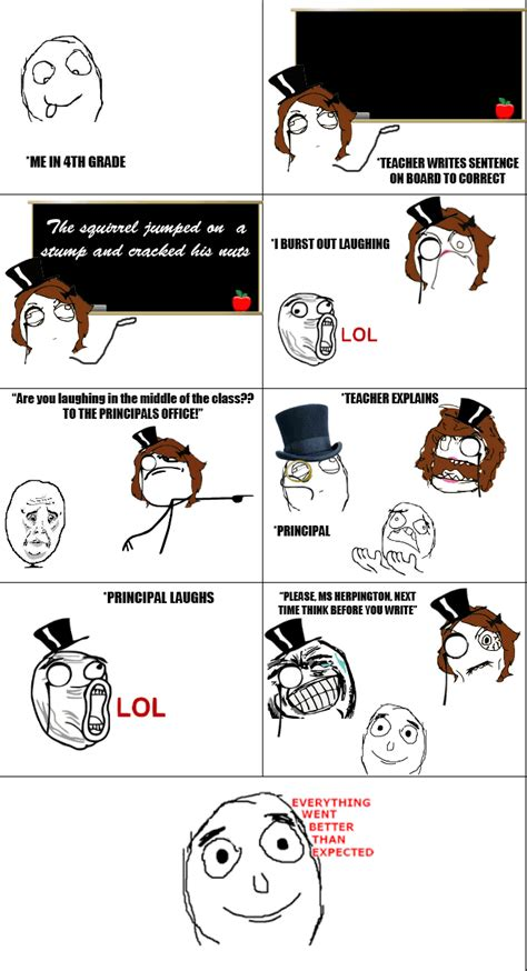 Rage Meme Comics - rage comics school on pinterest rage comics new rage