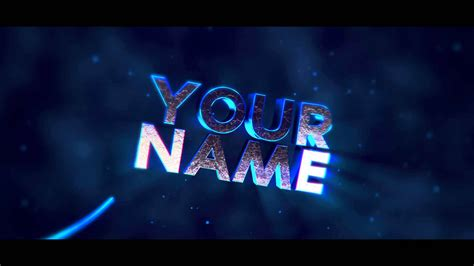 c4d ae free awesome intro template by carrier youtube