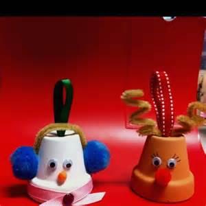 ornaments clay pots pinterest clay pots reindeer