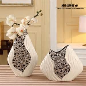 Decorative Table Vases Modern Porcelain Vase Artificial Ceramic Flower Vase Home
