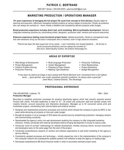 Resume Product Manager Pharmaceutical 20 best marketing resume sles images on marketing resume free resume sles and