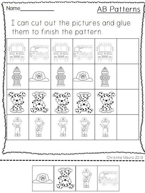 pattern unit for kindergarten halloween pattern worksheets for preschool pattern