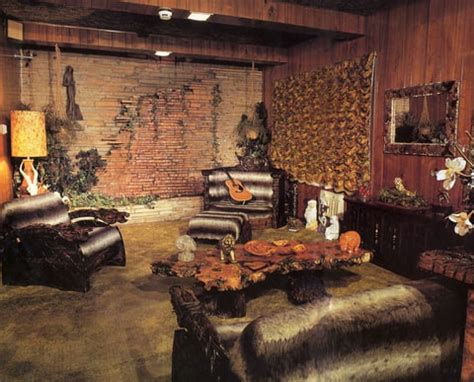 elvis jungle room inside elvis s legendary cave studio rolling