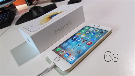 unboxing apple iphone 6s 64gb gold unlocked