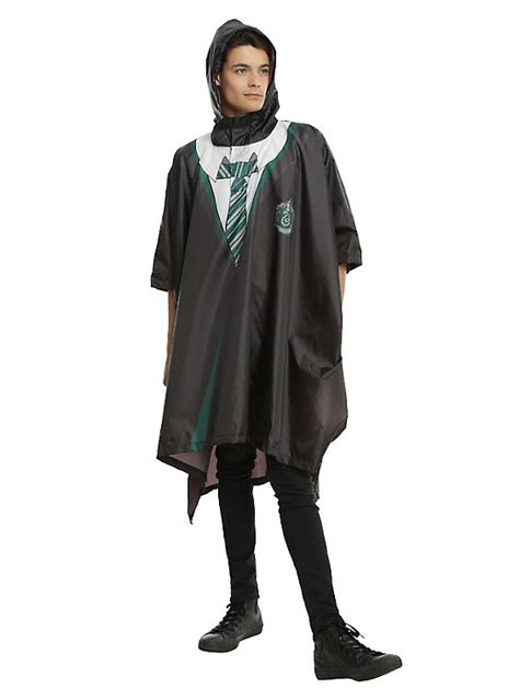 harry potter house robes harry potter slytherin house robe poncho hot topic