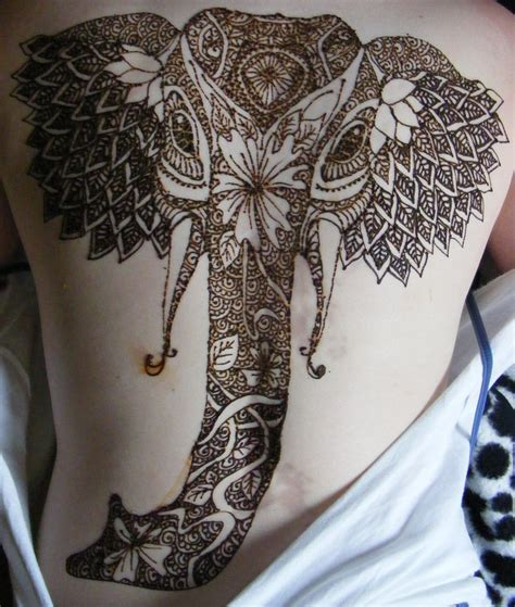 elephant henna tattoo designs 35 beautiful henna designs entertainmentmesh