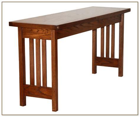 Mission Style Sofa Table Mission Style Sofa Table