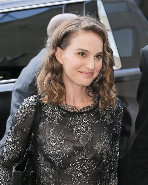 New For Natalie by Natalie Portman Arrives At A Studio In New York 08 18 2016