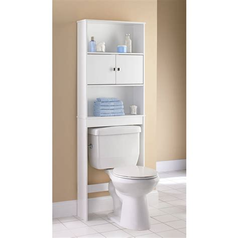 Bathroom Shelves At Walmart Mainstays 3 Shelf Bathroom Space Saver Satin Nickel Finish Walmart