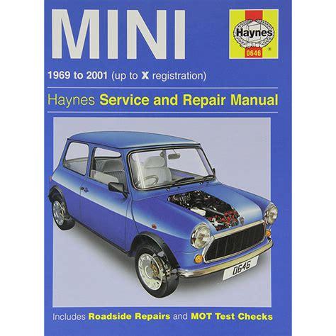 Haynes Repair Manual 1969 2001 Sbk0023 Seven Classic