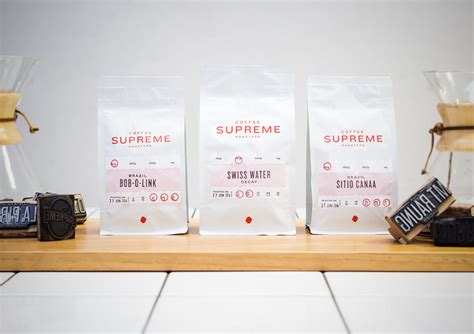 coffee supreme coffee supreme packaging best awards