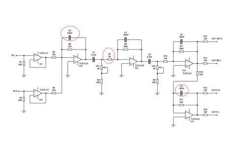 transistor lifier filter world technical subwoofer filter using tl072