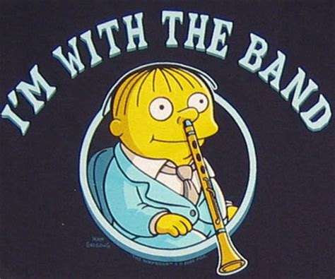 libro im with the band ralph wiggum images i m with the band wallpaper and background photos 123926