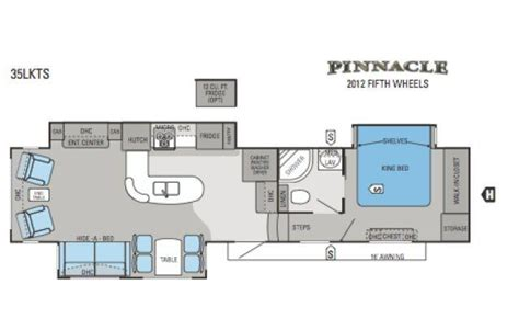 pinnacle 5th wheel floor plans 2012 jayco pinnacle 35lkts fifth wheel northside rvs