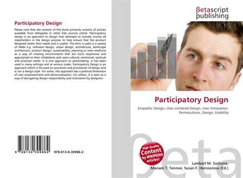 participatory design 978 613 0 30986 2 6130309864