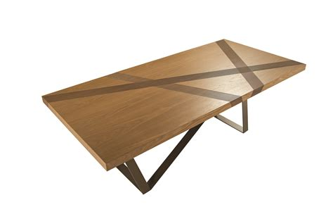 roche bobois dining table rectangular wood veneer dining table track les