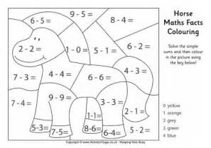Pig Maths Facts Colouring Page » Ideas Home Design