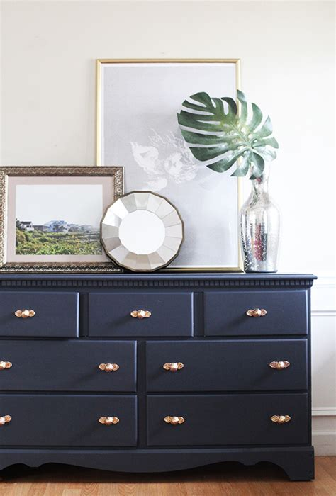 chalk paint navy chalky paint finish reveal in honor of design bloglovin
