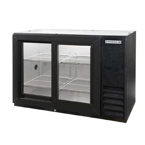 narrow door fridge beverage air bb48y 1 ss 48 quot ss back bar wine series