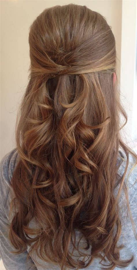 easy hairstyles for hair down 25 best half up wedding hair ideas on pinterest long