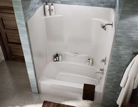 Bathroom With Tub And Shower Ts 3660 Alcove Or Tub Showers Bathtub Aker