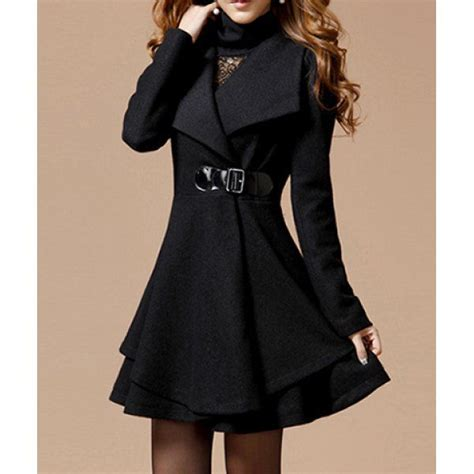 noble style worsted turn collar sleeves solid