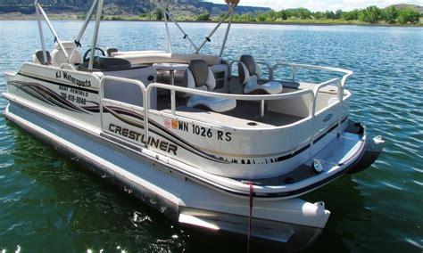 boat rental traverse city 20ft crest pontoon boat rental in traverse city michigan